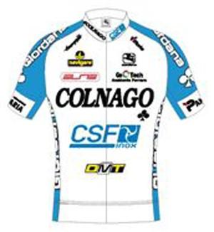 Colnago - CSF Inox 2011 shirt