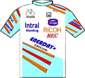 Intral Renting - Nec - Ricoh 1988 shirt