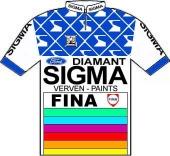 Sigma - Fina 1988 shirt