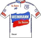 Weinmann - La Suisse - SMM Uster 1988 shirt