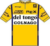 Del Tongo - Colnago - Zanussi 1988 shirt