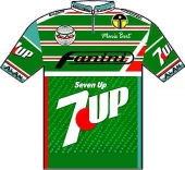 Fanini - Seven Up 1988 shirt