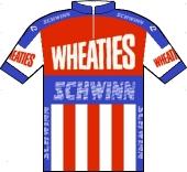 Schwinn - Wheaties - Wolber 1988 shirt