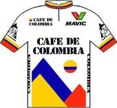 Café de Colombia 1988 shirt