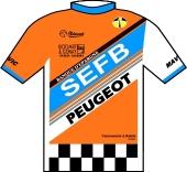 S.E.F.B. - Peugeot - Tönissteiner 1988 shirt