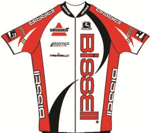 Bissell Cycling 2011 shirt