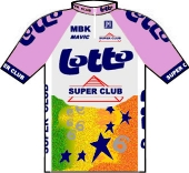 Lotto - Super Club 1991 shirt