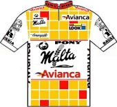 Pony Malta - Avianca 1991 shirt