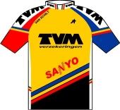 TVM - Sanyo 1991 shirt