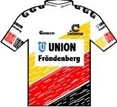 Union Fröndenberg 1991 shirt