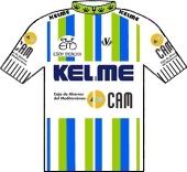 Kelme - Ibexpress - CAM 1991 shirt