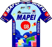 Mapei - GB 1996 shirt