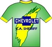 Chevrolet - L.A. Sheriff 1996 shirt