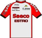 Saeco - Estro - A.S. Juvenes San Marino 1996 shirt