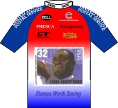 US Postal Service Cycling Team - Montgomery Bell 1996 shirt