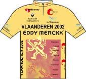 Vlaanderen 2002 - Eddy Merckx 1996 shirt