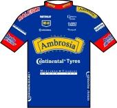 Ambrosia Desserts - Continental 1996 shirt