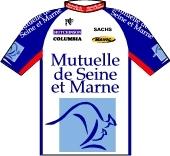Mutuelle de Seine-et-Marne 1996 shirt