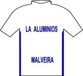 L.A. Aluminios - A.C. Malveira 1996 shirt