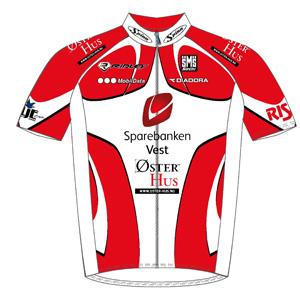 Sparebanken Vest - Ridley 2011 shirt