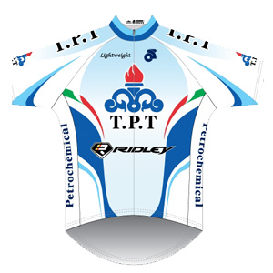 Tabriz Petrochemical Team 2011 shirt