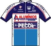 L.A. Aluminios - Pecol - A.C. Malveira 1997 shirt