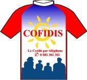 Cofidis 1997 shirt
