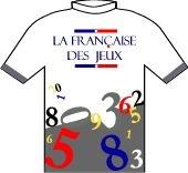 La Francaise des Jeux 1997 shirt