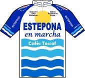 Estepona en Marcha - Cafés Toscaf 1997 shirt
