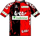 Lotto - Mobistar - Isoglass 1997 shirt