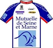 Mutuelle de Seine et Marne 1997 shirt