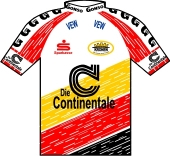 Die Continentale - Olympia 1997 shirt