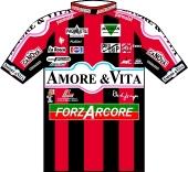 Amore & Vita - Forzarcore 1997 shirt