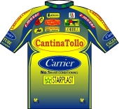 Cantina Tollo - Carrier - Starplast 1997 shirt