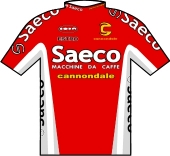 Saeco - Cannondale 1999 shirt