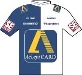 Acceptcard Pro Cycling 1999 shirt