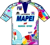 Mapei - Quick Step 1999 shirt