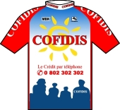 Cofidis 1999 shirt