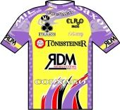 Tönissteiner - RDM - Colnago - Elro Snacks 1999 shirt