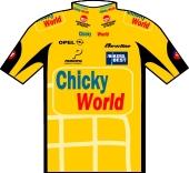 Team Chicky World 1999 shirt