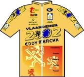 Vlaanderen 2002 - Eddy Merckx 1999 shirt