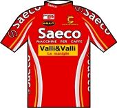 Saeco - Valli & Valli 2000 shirt