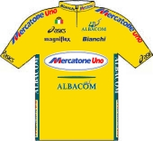 Mercatone Uno - Albacom 2000 shirt