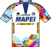 Mapei - Quick Step 2000 shirt