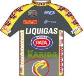 Liquigas - Pata 2000 shirt