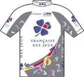 La Francaise des Jeux 2000 shirt