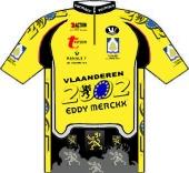 Vlaanderen 2002 - Eddy Merckx 2000 shirt