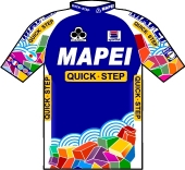 Mapei - Quick Step 2001 shirt