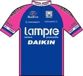 Lampre - Daikin 2001 shirt