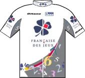 La Francaise des Jeux 2001 shirt